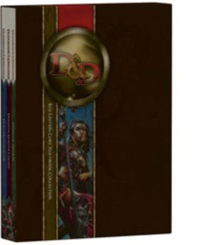 Dungeons and Dragons Core Rulebook Gift Set, 4th Edition