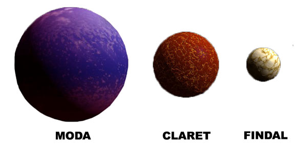 3 Moons of Alidor