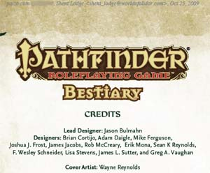Gargoyles and Spiders Pathfinder Bestiary is all that and more