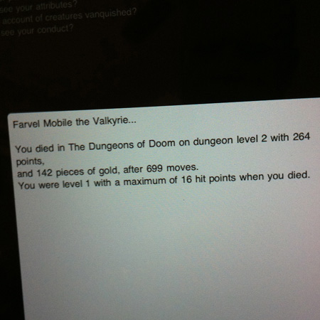 NetHack for iPad and iPhone
